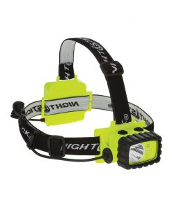 NIGHTSTICK Intrinsically Safe Headlamp Dual Light 175 Lumens Hi Vis Yellow
