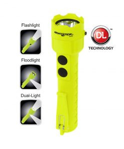 NIGHTSTICK Intrinsically Safe Torch 120 Lumens with Floodlight Hi Vis