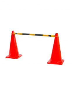 Yellow/Black Extendable Cone Bar