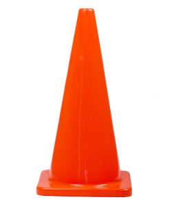 Orange PVC Plain Cone 900mm