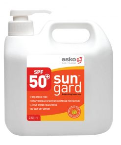 SUNGARD® SPF50+ Sunscreen with Aloe Vera & Vitamin E