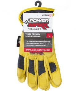 Premium Gold Leather Mechanic Riggers Glove