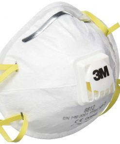 3M™ Cupped Particulate Respirator 8812, P1, valved