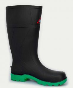 Bata Workmate Black Non-Safety - Green Sole