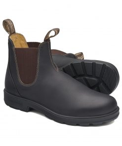 Blundstone Brown Premium Leather Work Boot - Style 600