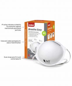 DRP1 Esko Breathe Easy P1 Mask Box/20