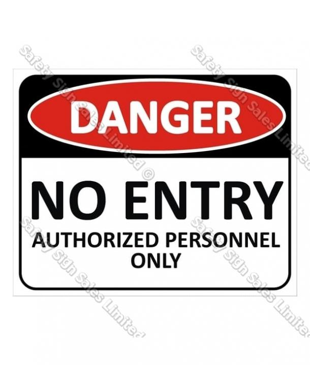 CYO|DA4 No Entry Sign