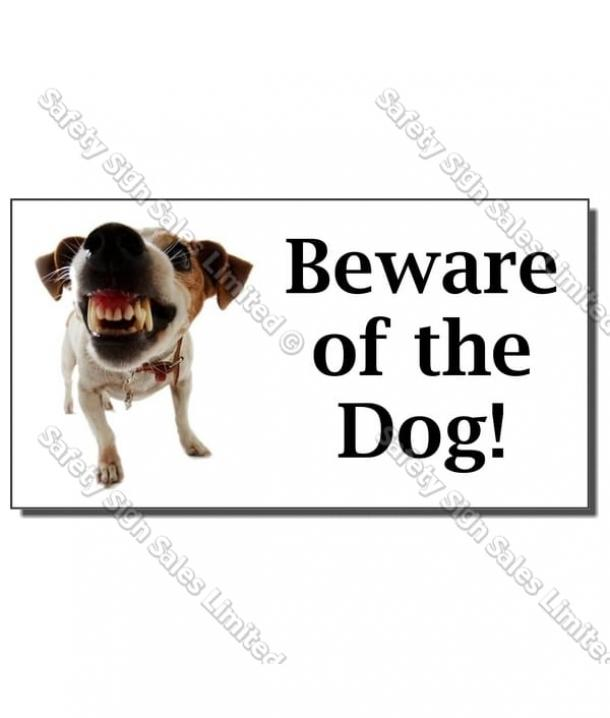 CYO|DS06 – Beware of the Dog Sign