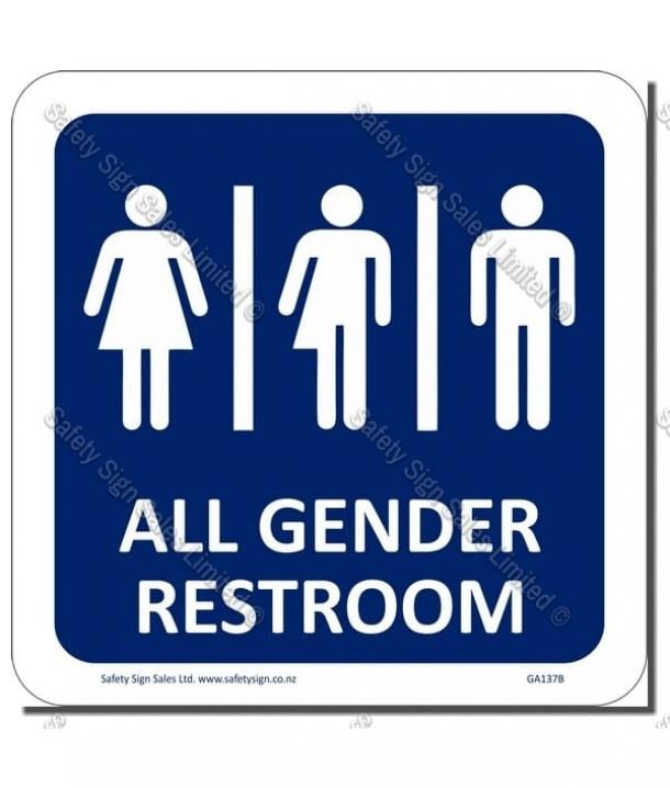 CYO-GA137B | Gender Neutral Sign – Toilet