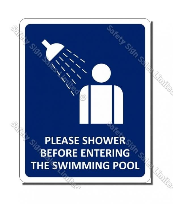 CYO SP01 – Shower Sign