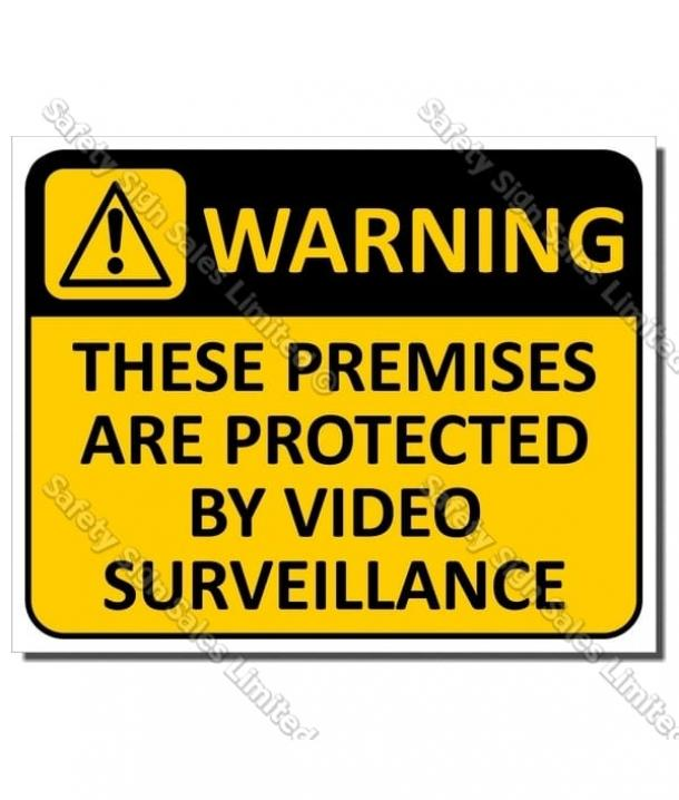 CYO|WA15 Video Surveillance Sign