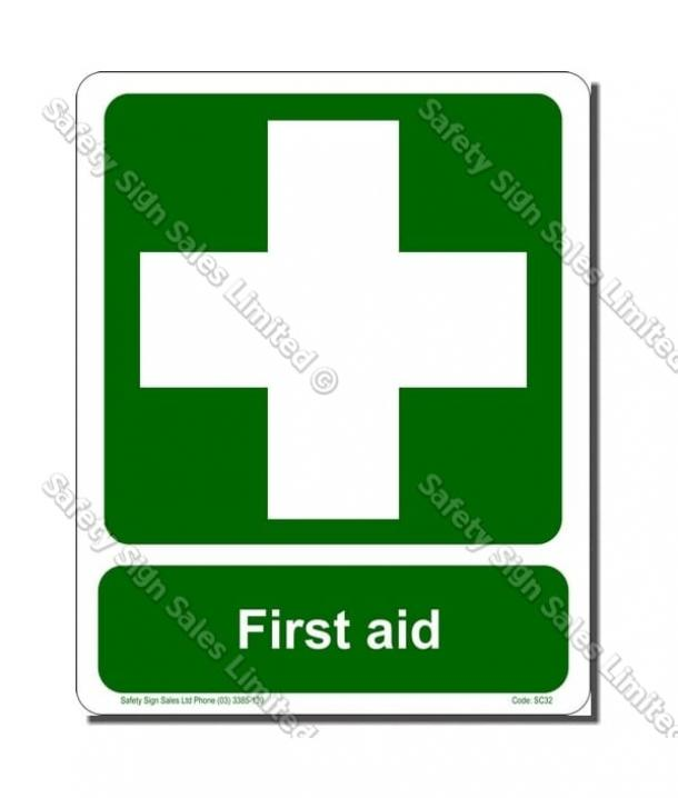SC32L – First Aid Label