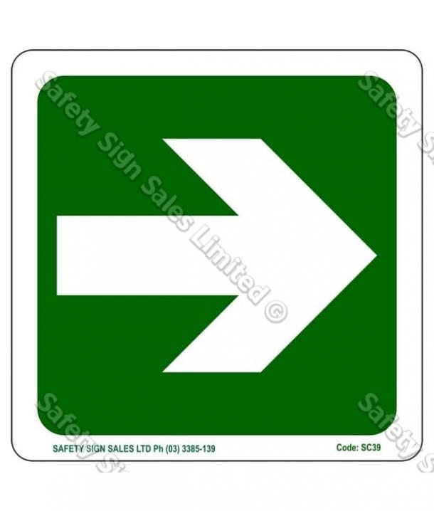 SC39 – Arrow Sign