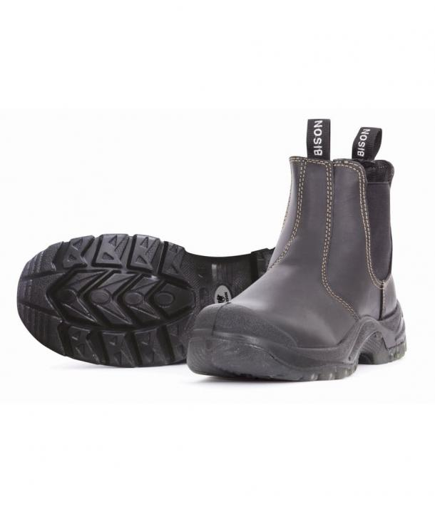 Bison Grizzly Slip On Safety Boot
