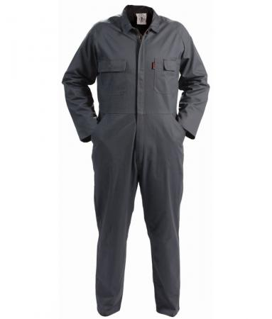 TWZ 300gsm 100%Cotton Long Sleeve Zip Overall