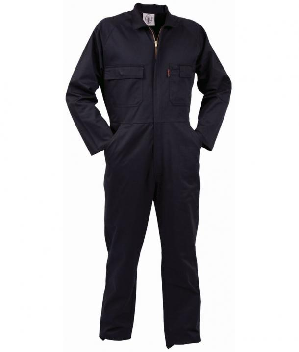 TWZ 270gsm Polycotton Long Sleeve Zip Overall