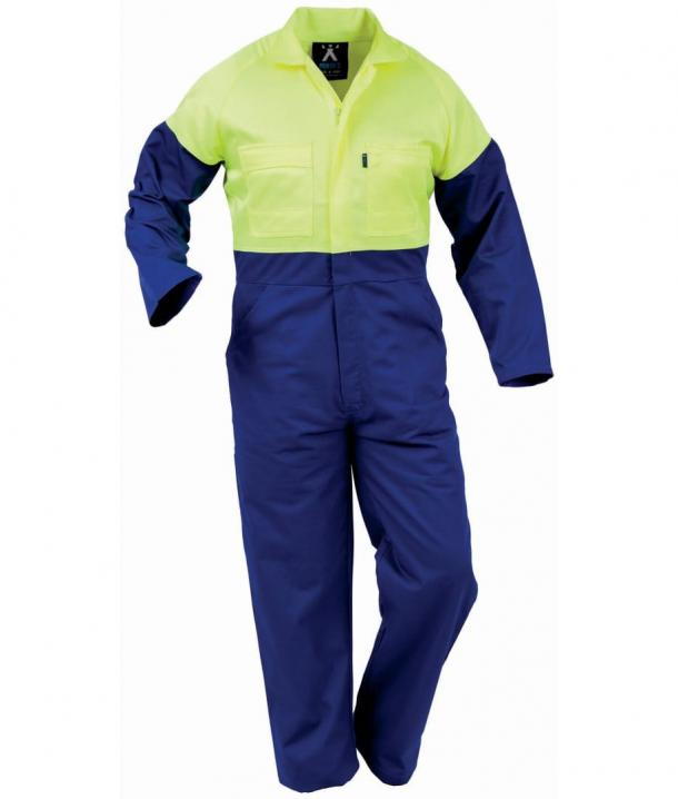 Argyle 240gsm Polycotton Day Only Non Conductive Zip Overall