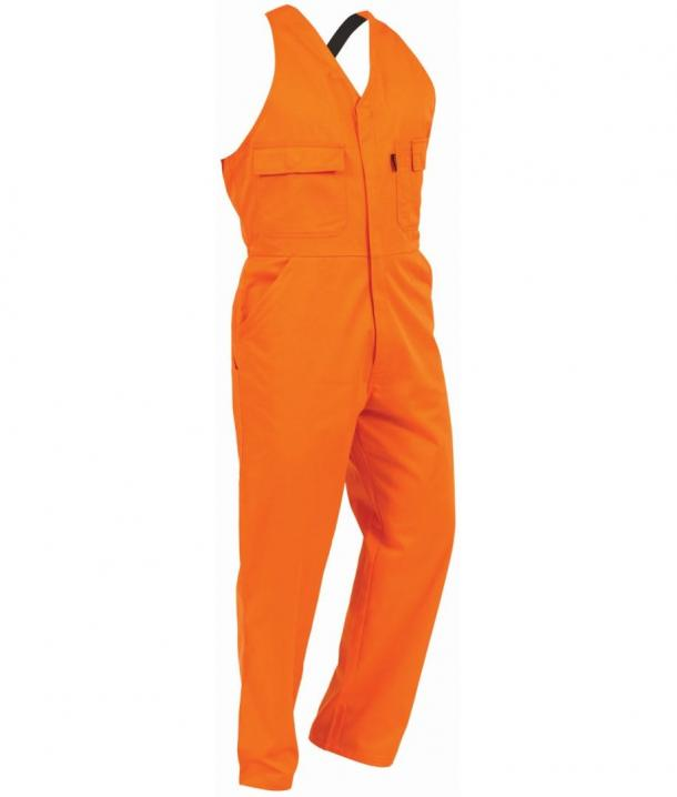 TWZ 300gsm 100%Cotton Comfort Domed Overall