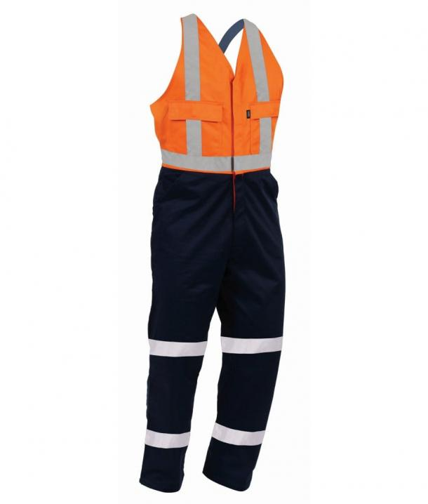 TWZ 300gsm 100%Cotton Easi-Action Taped Overall