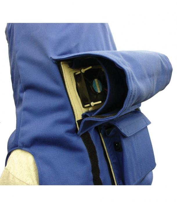Arcguard Switching Hood with Ventilation System 40 Cal/cm² ATPV HRC4/PPE4