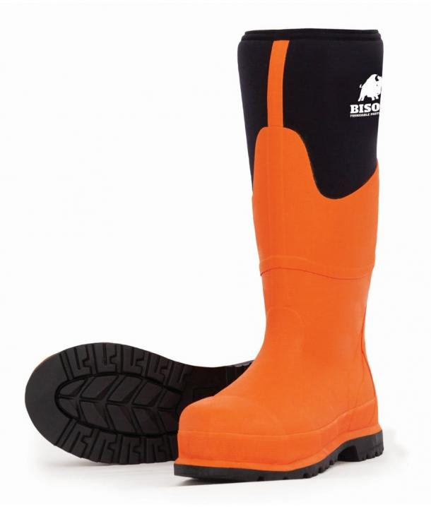 Bison Neo Rubber/Neoprene Safety Gumboot