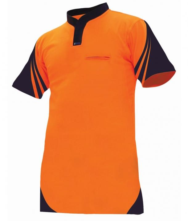 Argyle Lightweight Day Only Quick-Dri Cotton Backed Hi Vis Polo