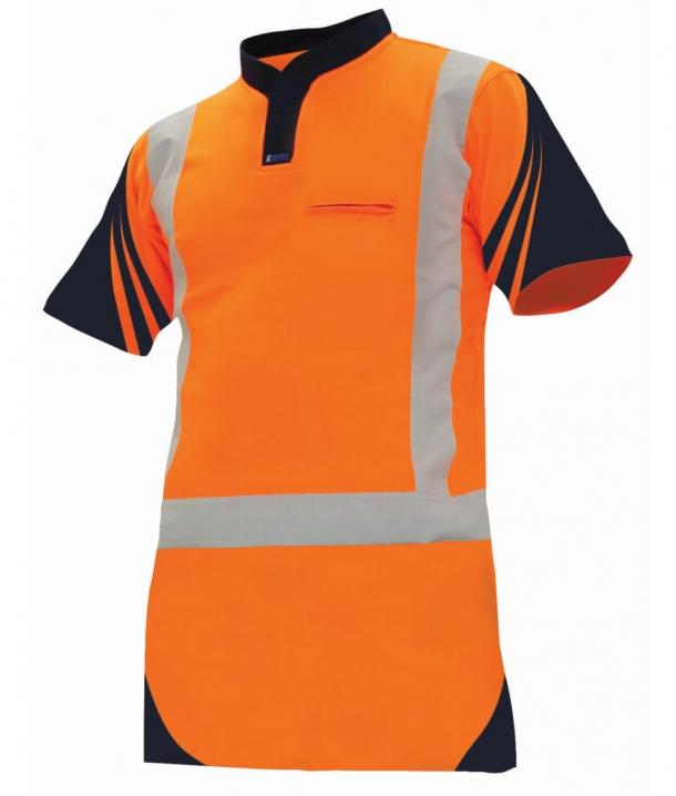 Argyle Lightweight Day/Night Quick-Dri Cotton Backed Hi Vis Polo