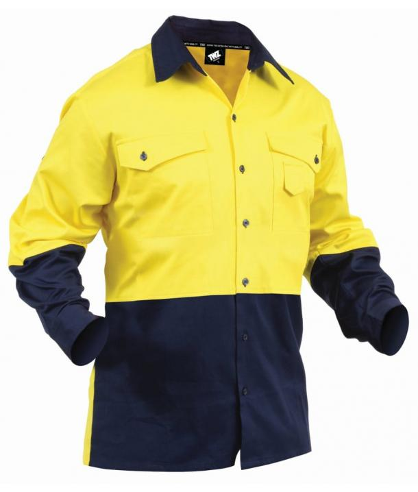 TWZ Industrial 190gsm 100% Suave Cotton Day Only Shirt