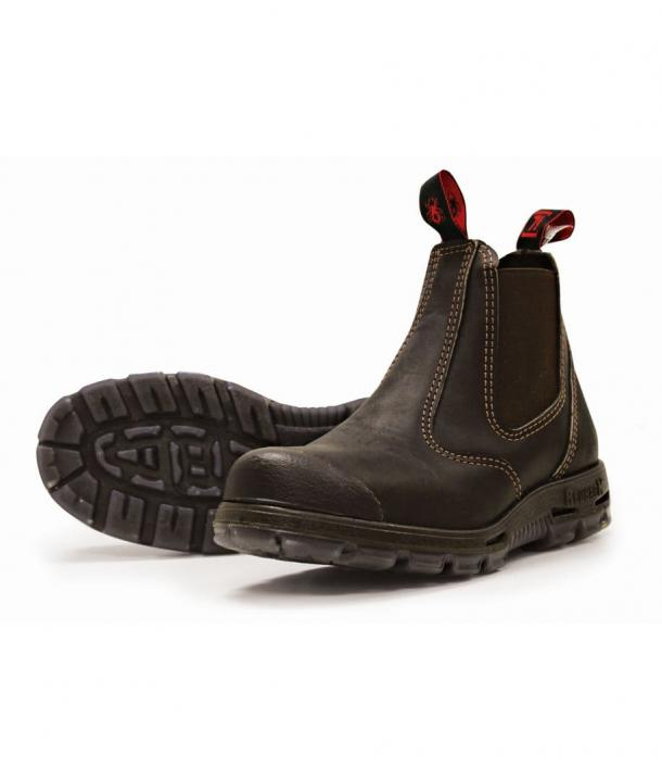 Redback Bobcat Slip On with Scuff Cap Safety Boot