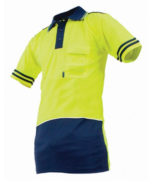 Argyle Day Only Quick-Dri Cotton Backed Hi Vis Polo