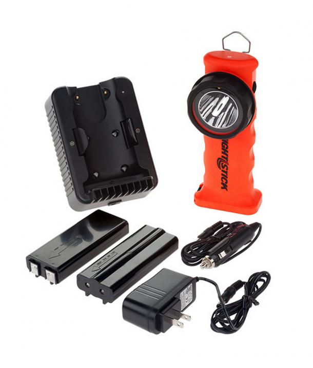 Nightstick Intrinsically Safe Right Angle LED Torch Rechargeable