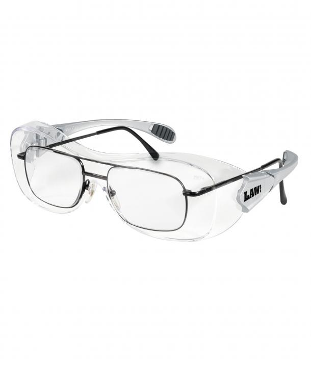 Law® OTG – Over-the-glass frame, Clear Anti-Fog Lens